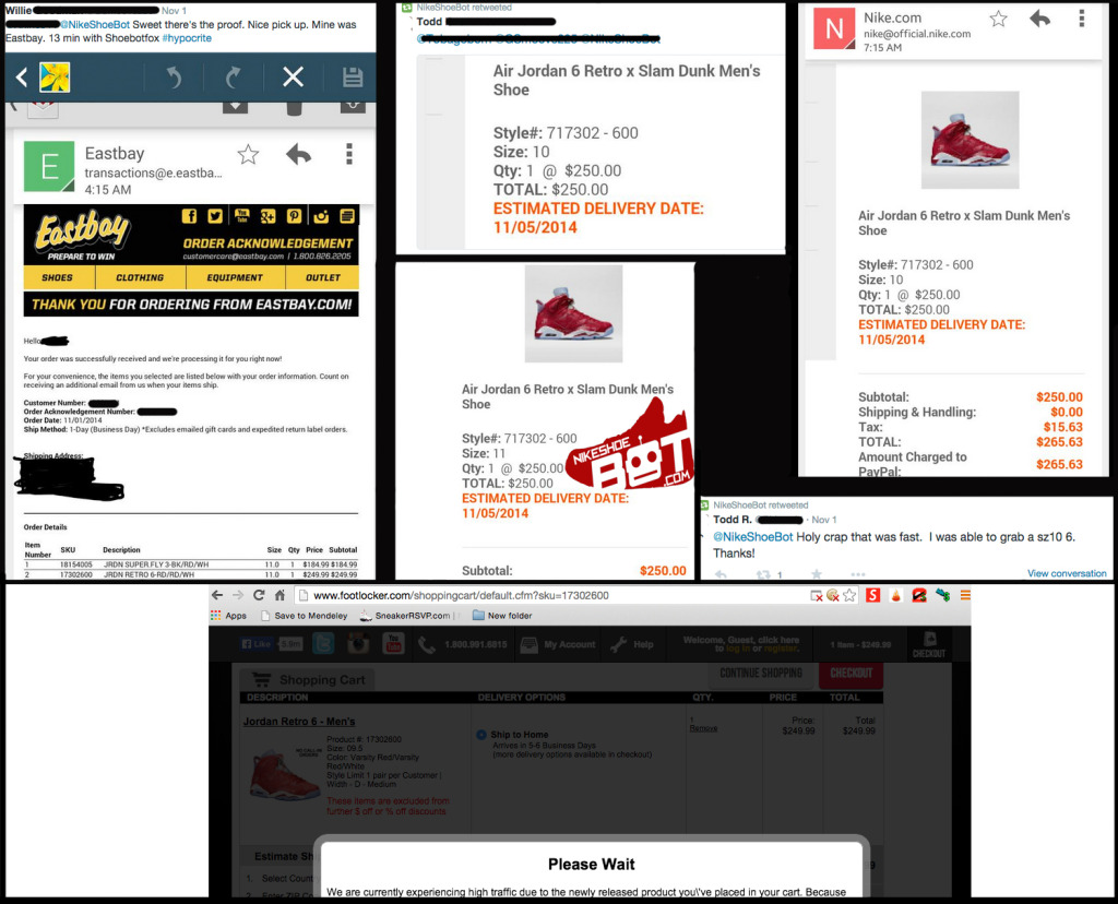 NikeShoeBotSlamDunk