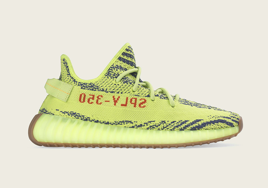 Yeezy Boost Semi Frozen Yellow