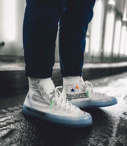 off white converse