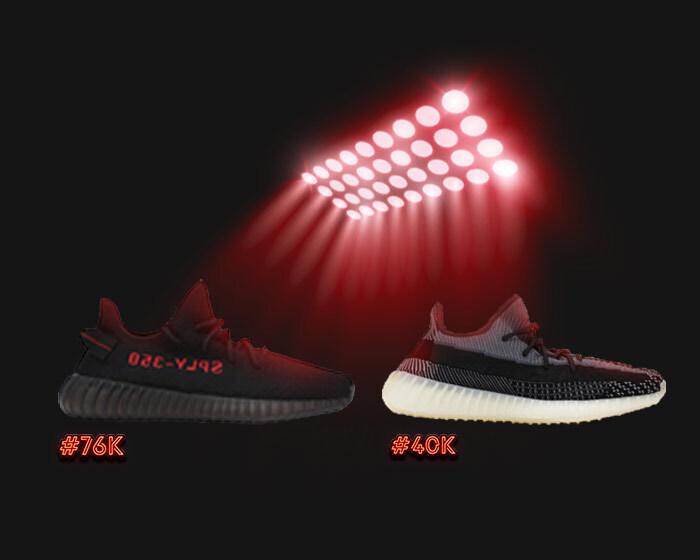 top 2 adidas yeezys 350s