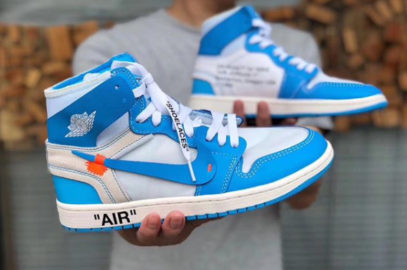 4ddd867ae8446f The UNC Off White x Air Jordan 1 Drops this June