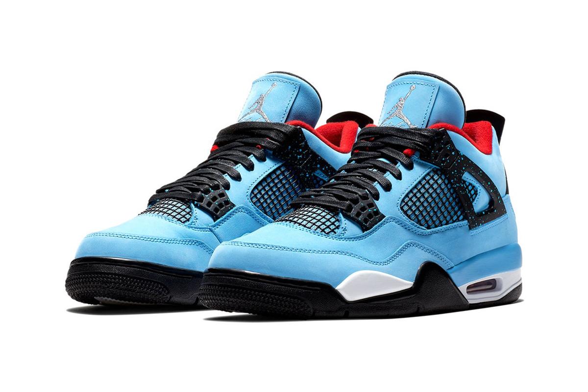 47b8a7586ba101 Nike x Travis Scott Collab Brings A Limited Jordan 4 Retro Cactus Jack