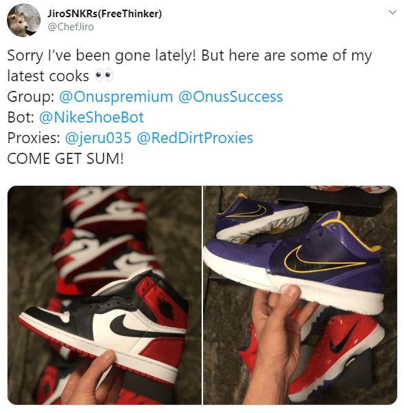 Proof It Works! | Best Nike Bot Available | NikeShoeBot