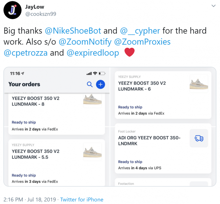 Nike Shoe Bot
