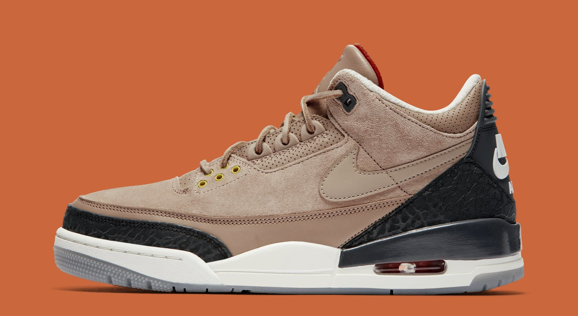 52309fb5fa8d13 Air Jordan 3 JTH Bio Beige Features   Release Date
