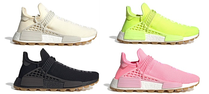 adidas pharrell now is her time