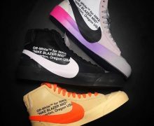 off white nike blazer