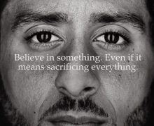 Nike sneakers kaep campaign
