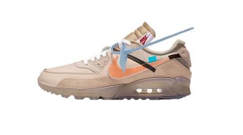 Off White Nike Air Max 90 in Desert