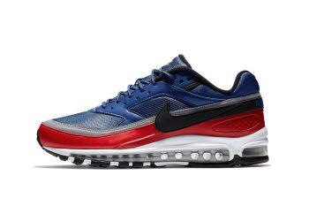 nike air max 97 bw blue red