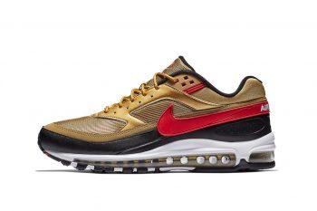 nike air max 97 bw gold red
