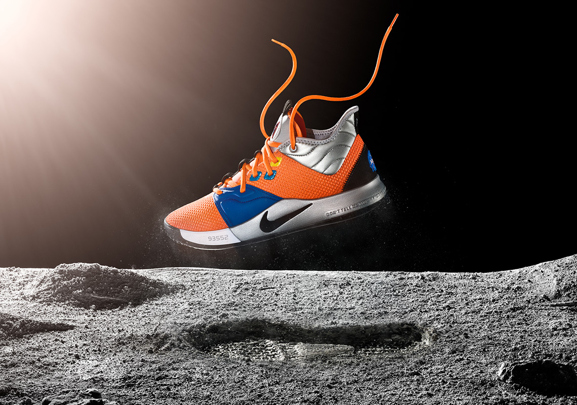 timeless design 1cf0f 9c129 Nike PG 3: Into the New Space-Inspired Paul George Shoes