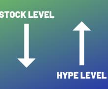 New Yeezys hype level stock level