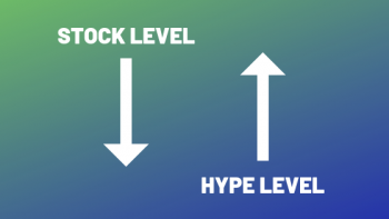 New Yeezys hype level stock level