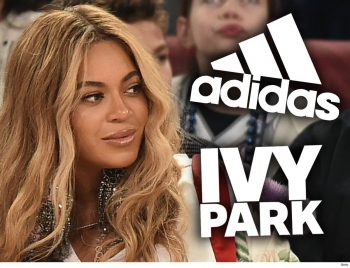 Beyonce featuring collaboration with Adidas