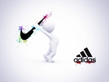 The competition between Nike and Adidas