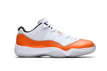 Air Jordan 11 Low WMNS Orange Trance