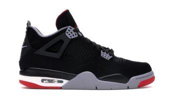 Air Jordan Sneakers- AJ 4 Bred