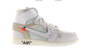 Jordan 1 Retro OFF-WHITE White