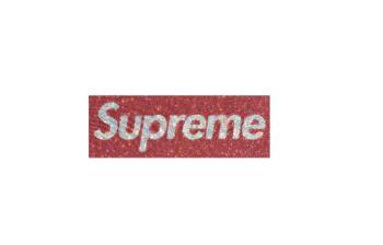 Supreme Box Logo Glammed Up With Swarovski