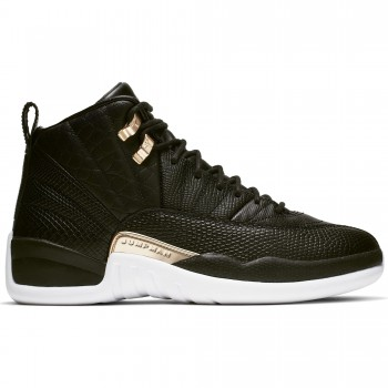 The special Air Jordan XII for Women 'Midnight Black'