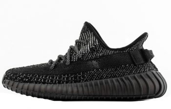 Adidas Yeezy Boost 350 V2- Static Black Reflective