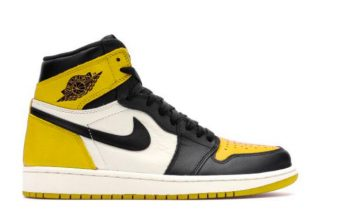 Cop the new Air Jordan 1 Retro High OG Yellow Toe