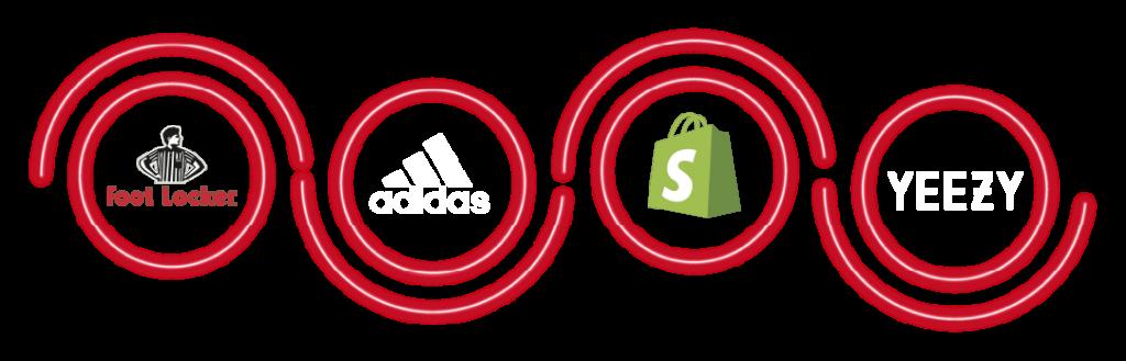 cop sneakers - multiple sites