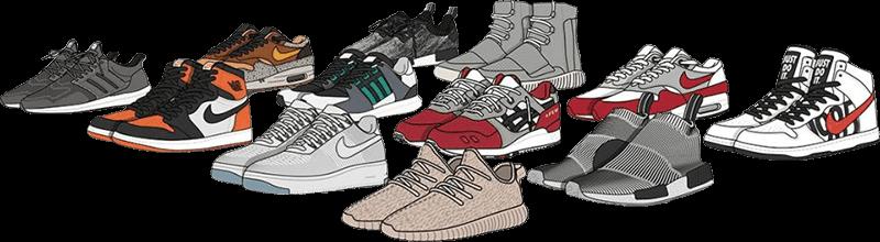 cop sneakers-sneaker collection