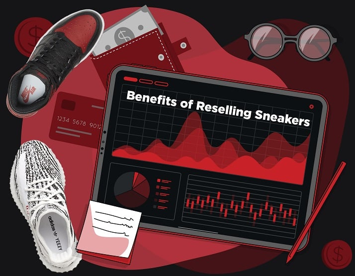 Benefits of Reselling sneakers