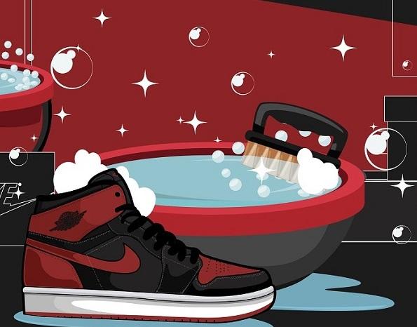 Clean Sneakers Upper