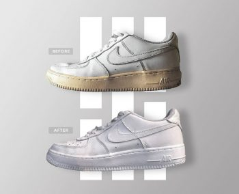 Clean your sneakers- Nike