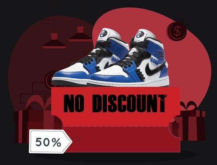 sneakerhead questions - no discounts