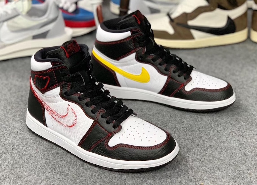 Air Jordan 1 Defiant Tour Yellow -
