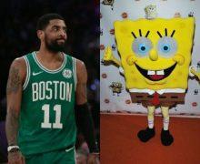 Kyrie and SpongeBob