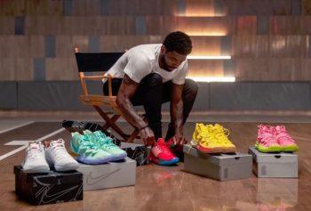 Kyrie x Nike collaborations spongeBob
