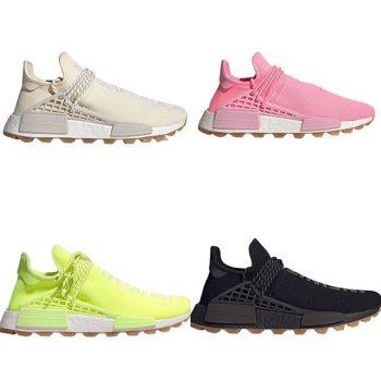 Adidas x Pharell NMDs- September sneaker drops