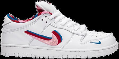Parra Nike SB Dunk 3D Nike Swoosh