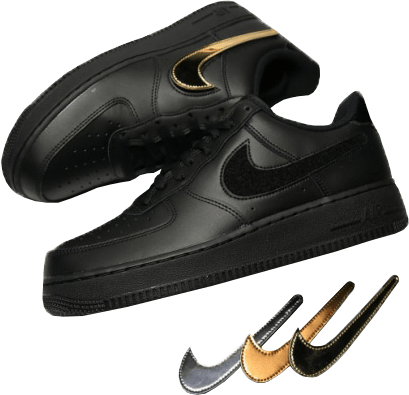 Removable Nike Swoosh