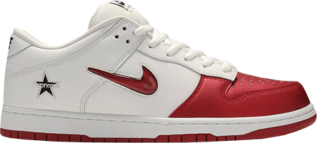 Supreme Nike Dunk Jewel Swoosh