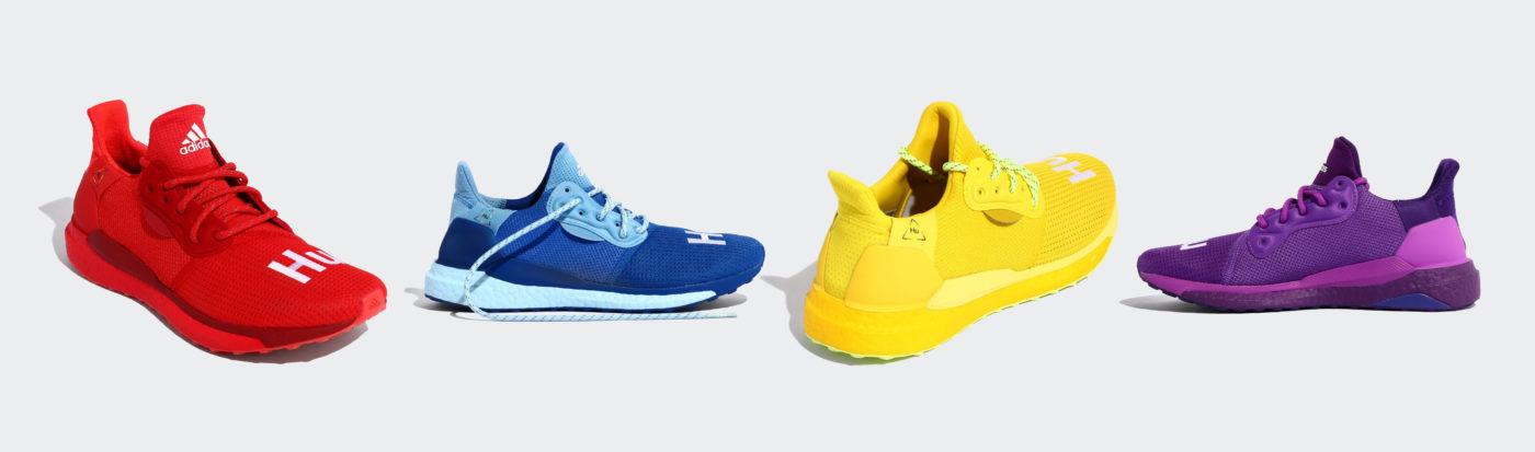 Adidas Pharrell september 2019