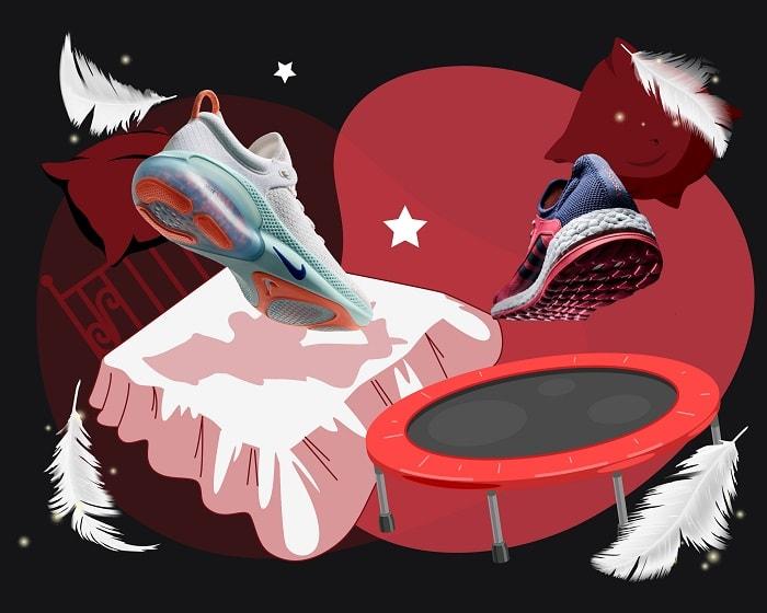 Nike joyride vs adidas boost