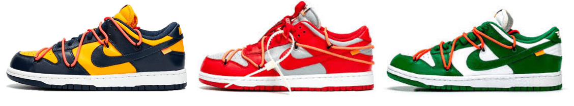 Off-White Nike Dunk Low October Release