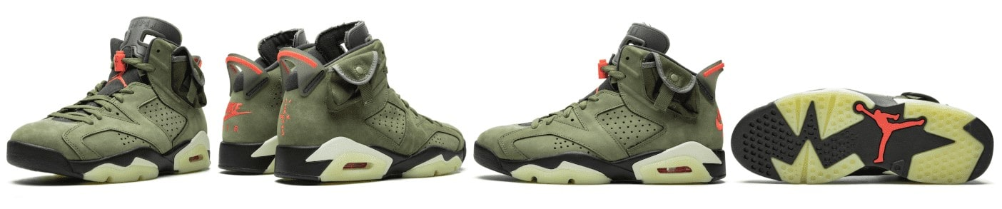 Travis Scott Air Jordan 6 October release