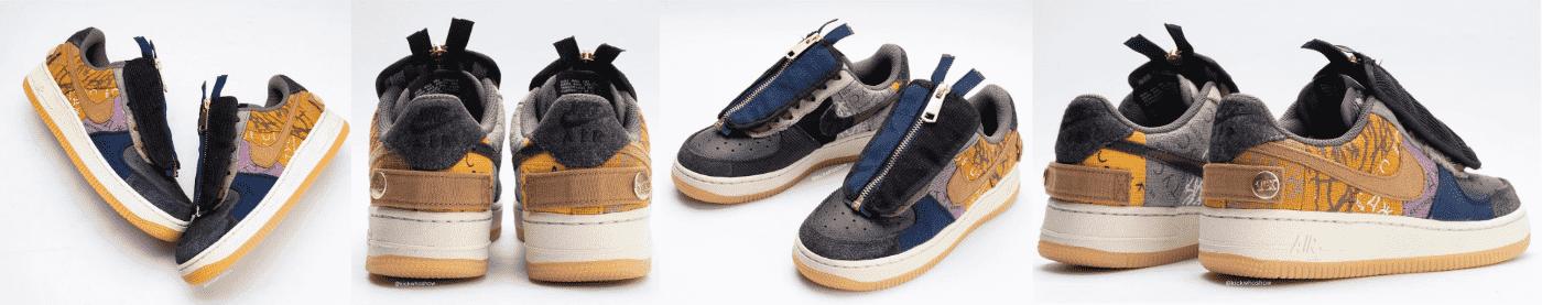 Travis Scott Nike AF1 October Release