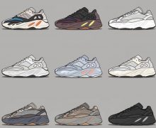 Yeezy 700 colorways