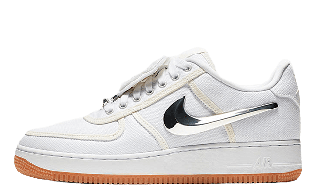 Travis Scott AF1 Low White