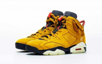 AJ 6 Yellow Travis