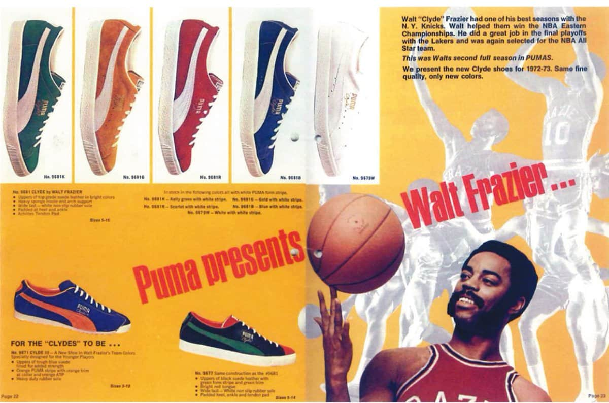 Collaborations - Puma Walt Frazier