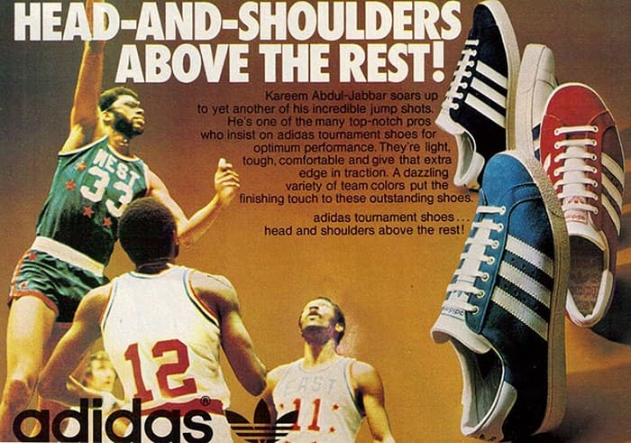 Kareem Abduljabbar adidas